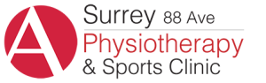 Surrey 88 Ave Physiotherapy and Sports Injury Clinic Black Logo PNG